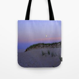 Nighttime at the Beach Tote Bag
