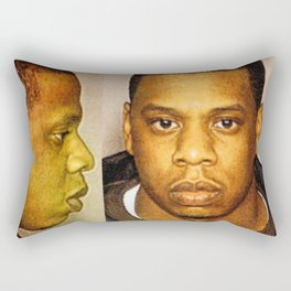 Shawn Carter MugShot 1999 Rectangular Pillow
