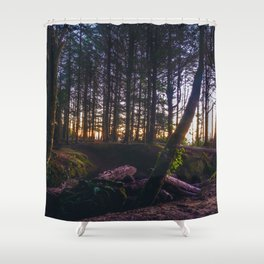 Wooded Tofino Shower Curtain