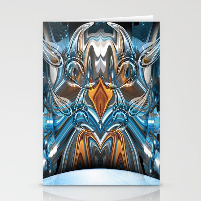 ion rising Stationery Cards
