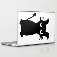 kitty Laptop & iPad Skins featuring kitty by Sproot