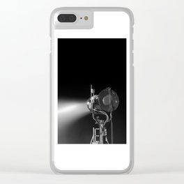Snow Blower Clear iPhone Case