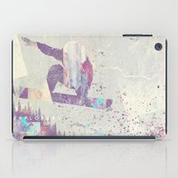 snowboarding iPad Cases featuring Explorers IV by HappyMelvin
