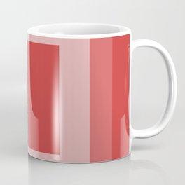 Reddish Square Design Coffee Mug