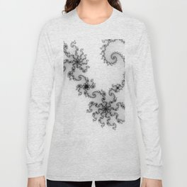 detail on mandelbrot set - starfish Long Sleeve T-shirt