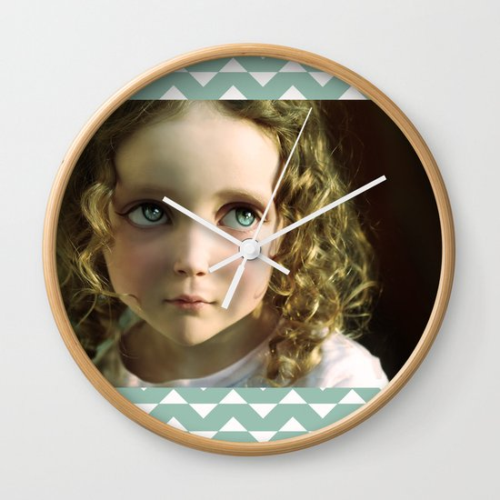 Manga Mila Wall Clock