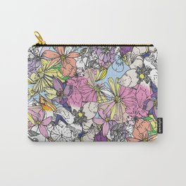 eastern flowers Carry-All Pouch