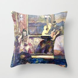 the Night Before the Night Before Throw Pillow
