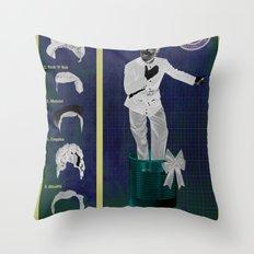 Patron sur Mesure Throw Pillow