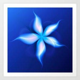 La Fleur Magique de la Sorcière Fractal Art Print