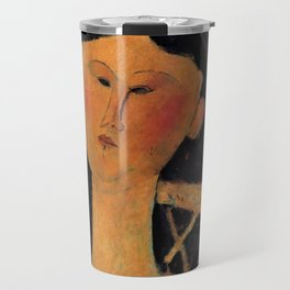"Amedeo Modigliani ""Beatrice Hastings"" 1915 Travel Mug"