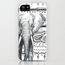 Mr Elephant. iPhone Case