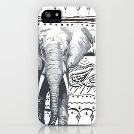 Mr Elephant. iPhone Case