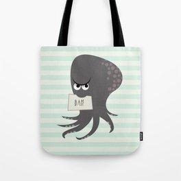 Squid of Contempt Tote Bag