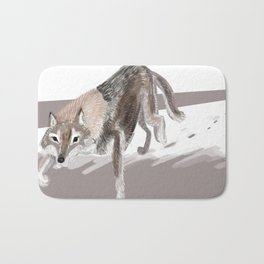 Totem Russian Wolf Bath Mat