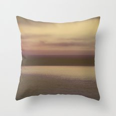 Rock and water Throw Pillow