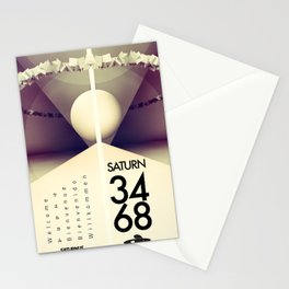 Saturn 3468 Stationery Cards