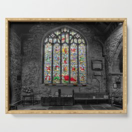 St Dyfnogs Window Serving Tray