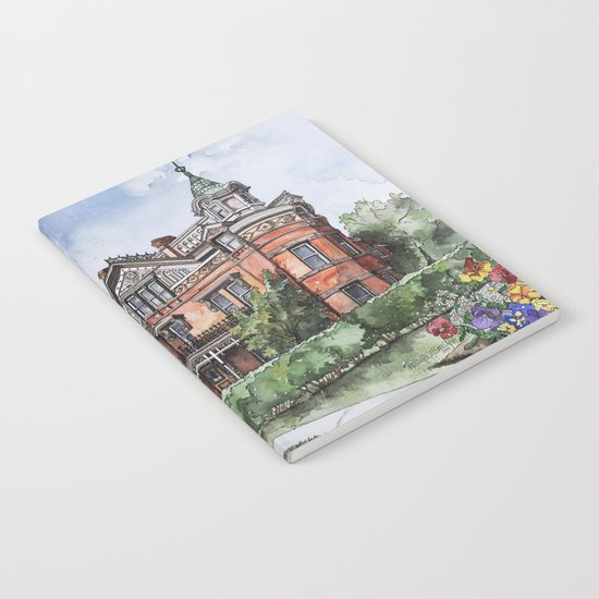 Armstrong Mansion Notebook
