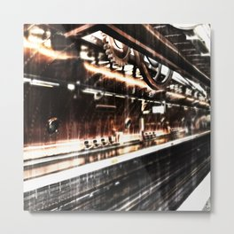 Paris - Arts et Métiers Metrostation Metal Print