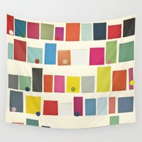 city Wall Tapestries featuring City by Cassia Beck