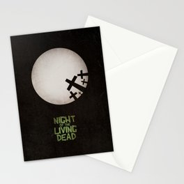 Night of the Living Dead Stationery Cards