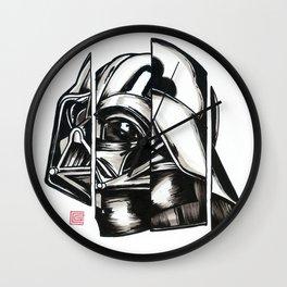 Darth Vader Deconstructed Wall Clock