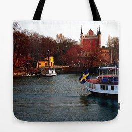 Stockholm, Sweden  Tote Bag