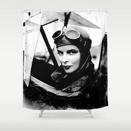 Iconic Hepburn Shower Curtain