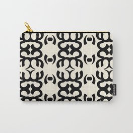 Namaste Symbol Abstract Pattern Carry-All Pouch
