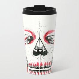 Desert Pea Skull - Soul Discovery Metal Travel Mug