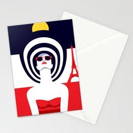 Stylish Journey - Paris Stationery Cards