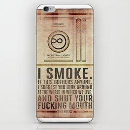 Smoking Bill Hicks… iPhone Skin