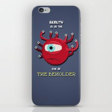Beauty of the Beholder iPhone & iPod Skin
