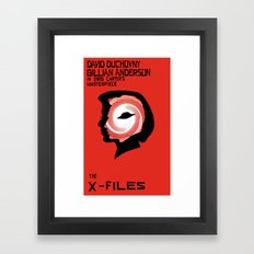 The X-Files as Vertigo Framed Art Print
