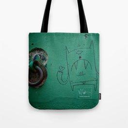 Monster Graffiti Tote Bag
