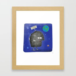 Charlie Sheen - Planet Sheen Framed Art Print