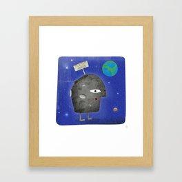 Charlie Sheen - Planet Sheen Framed Art Print