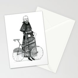 St. Maximilian and the Bicycle Stationery Cards