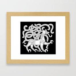 Mammen Style Ornament IV Framed Art Print