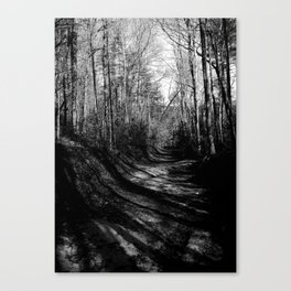 Shadow Tunnel Canvas Print