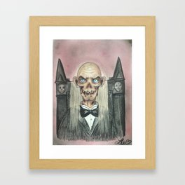 The Crypt Keeper Framed Art Print