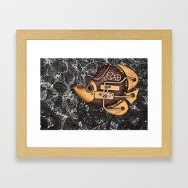 Steampunk Butterflyfish Framed Art Print