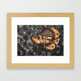 Steampunk Butterflyfish Framed Art Print