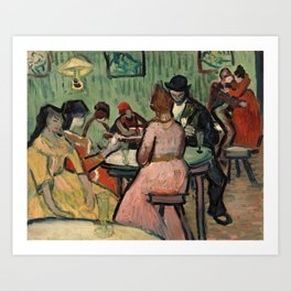 The Brothel by Vincent Van Gogh, 1888 Art Print