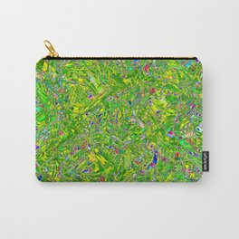 Abstract RR QQY Carry-All Pouch