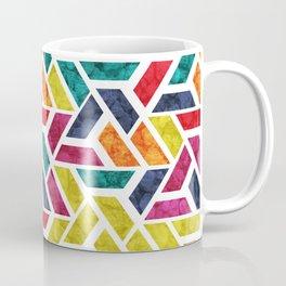 Seamless Colorful Geometric Pattern XII Coffee Mug