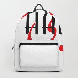 Habibi - My Love for him(Arabic) Backpack