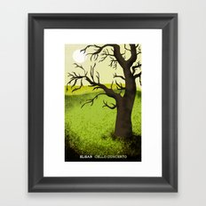 Elgar Cello Concerto Framed Art Print