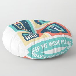 Music Design For Every Genration! For everyone! Floor Pillow